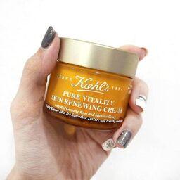 Kem dưỡng Kiehl's Pure Vitality Skin Renewing Cream, chỉ dành cho da khô!