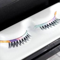 Tên bài: Lông mi giả Shu Uemura rainbow-sensation premium false eyelashes – sắc màu cồng vồng!