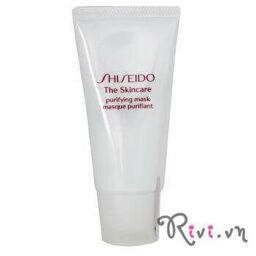 Mặt nạ đất sét Shiseido hấp thu bã nhờn Purifying Mask, làm gì để loại bỏ tạp chất dư thừa?