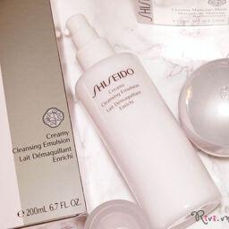 [REVIEW] Sữa tẩy trang SHISEIDO Creamy Cleansing Emulsion