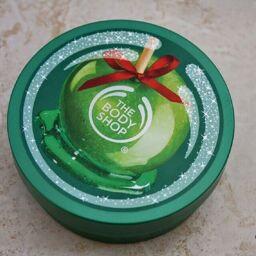 Bơ dưỡng thể The Body Shop mềm mịn Glazed Apple Body Butter, dừng lại làn da xấu xí!