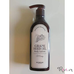 [Review] Dầu dưỡng thể SKINFOOD Bath & Body GRAPE SEED OIL BODY LOTION- vách ngăn chống đỡ cho làn da trước thời gian!