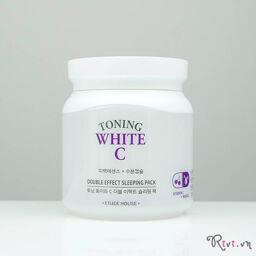[Review] Mặt nạ ngủ ETUDE HOUSE White C Double Effect Sleeping Pack – Giải pháp giúp bạn sở hữa làn da trắng sáng