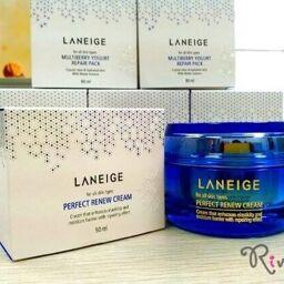 [Review] Kem dưỡng ngừa lão hóa LANEIGE Skincare Perfect Renew Cream!
