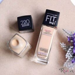 [REVIEW] Kem nền Maybelline Fit Me® Dewy+ Smooth Foundation