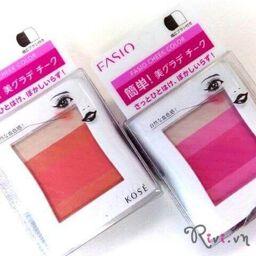 [Review] Phấn má hồng Kosé trang điểm Fasino cheek color