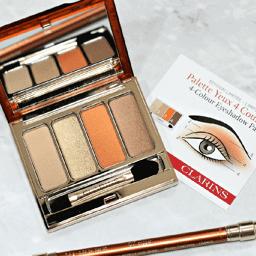 Bảng phấn mắt Clarins Eye Limited Edition 4-Colour Eye Palette có gì hot?