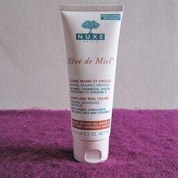 [Review] Kem tay nuôi dưỡng da Nuxe Rêve de Miel Hand and Nail Cream