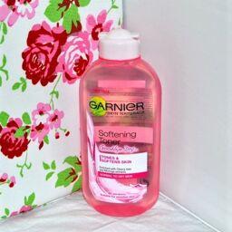 [Review] Nước hoa hồng Garnier Softening Toner Goodbye Dry