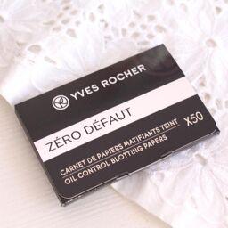 """Giấy thấm dầu Yves Rocher Trang điểm mặt Oil Control Blotting Papers – vật """"bất li thân"""" trong ngày hè!"""
