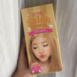 [Review] Thuốc tẩy tóc Hot Style Salon Hair Bleach