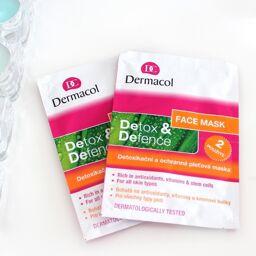 Mặt nạ thải độc và dưỡng ẩm Dermacol Detox & defence face mask – còn hơn chỉ là mặt nạ