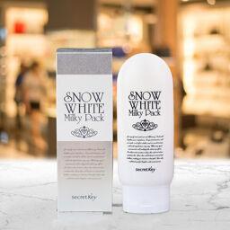 [Review] Kem Tắm Trắng Da Secret Key Snow White Milky Pack