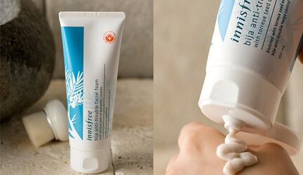 Điểm mặt các loại sữa rửa mặt Innisfree trị mụn đang được yêu thích