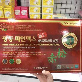 Viên tinh dầu thông đỏ Hàn Quốc Kwangdong – Thần dược cho mọi người